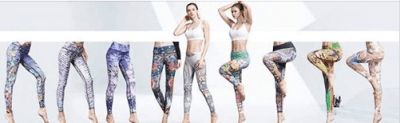 Amazon : Capris Printed Workout Leggings Just $9.49 to $11.49 W/Code (Reg : $22.99) (As of 4/20/2019 6.52 PM CDT)