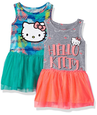 Amazon : Hello Kitty Girls 2 Pack Embellished Dresses Just $8.03-12.70 (As of 4/09/2019 10.05 AM CDT)