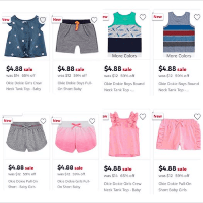 Jcpenney : Kids Apparel Just $4.88!!