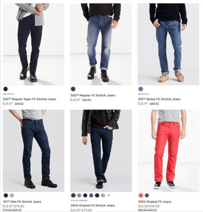 Levi's : Men's Jeans Just AS LOW AS $13.28 W/Code!!
