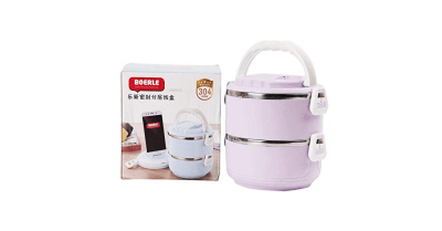 Amazon : Lunch Box Stainless Steel Leakproof Just $9.99 W/Code (Reg : $15.99) (As of 4/23/2019 7.13 PM CDT)
