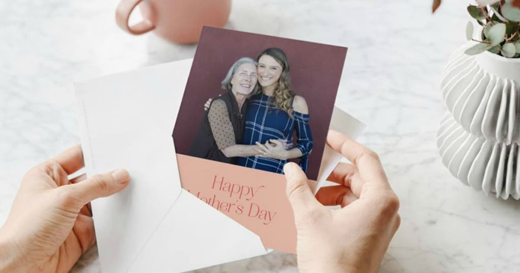 Free Personalized Mother's Day Card & FREE Shipping!!