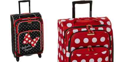 Amazon: American Tourister Disney Softside Spinner Luggage Only $52 Shipped (Regularly $100)