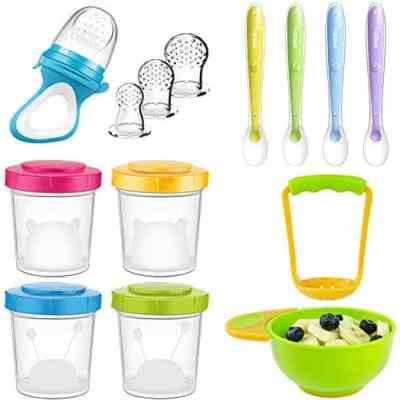 Amazon : Baby Food Storage Containers Set of 4 (7 oz) Just $11.99 W/Code (Reg : $23.99) (As of 5/24/2019 2.25 PM CDT)