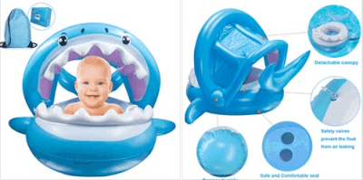 Amazon : Baby Pool Float Just $12.67 W/Code (Reg : $21.11) (As of 5/19/2019 1.14 PM CDT)