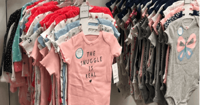 Kohls : $10 Off $25 Purchase + Stackable Discount Codes = Carter's Bodysuits 5-Pack $6.8 ($26)