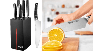 Amazon : Kitchen Knife Set Just $21.99 W/Code (Reg : $43.98) (As of 5/24/2019 9.27 PM CDT)