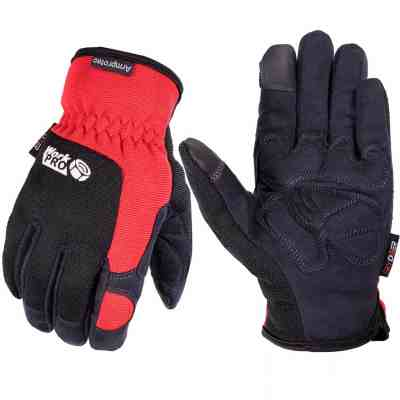 Amazon : Men's Hi-Performance Synthetic Leather Flexible Work Gloves with Double Foam Padded Palm Patch Protection Just $5.99 W/Code (Reg : $14.99) (As of 5/20/2019 9.37 PM CDT)