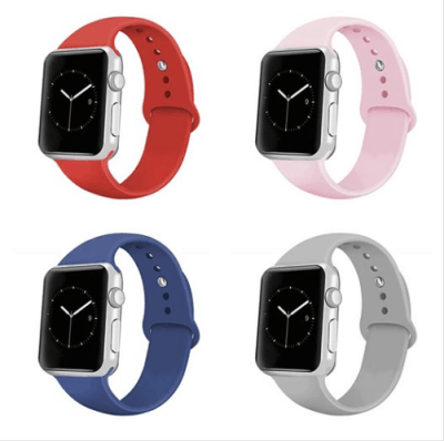 Amazon : Soft Silicone Sport Strap Replacement Bands for iWatch Apple Watch Just $1.80 W/Code (Reg : $5.99) (As of 5/20/2019 9.01 PM CDT)