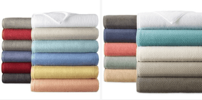 Jcpenney : Solid Bath Towels Just AS LOW AS $3.33 EACH (Reg $14 EACH)