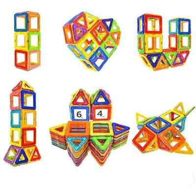 64pcs Magnetic Tiles Big Building Block Set for $17.99 Shipped! (Reg. Price $35.99)