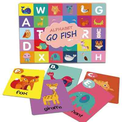 Amazon : 52 Alphabet Go Fish Cards Just $3.98 W/Code (Reg : $6.99) (As of 6/19/2019 4.08 PM CDT)