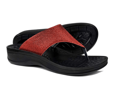 Amazon : Comfortable Orthopedic Arch Support Flip Flops and Sandals for Women Just $12.99 W/Lightening Deal + $5 Off Coupon (Reg : $37.99) (As of 6/17/2019 11.14 AM CDT)