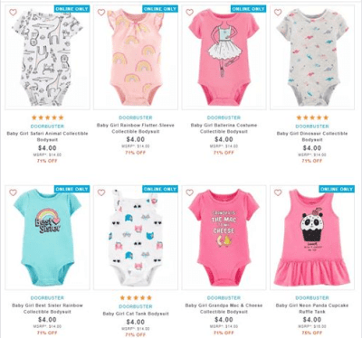 Carter's : ‼SALE‼ $4.00 (Reg $14.00+) Carters Baby Girls Clothes