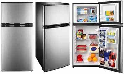 RUN! Insignia Stainless Steel Refrigerator ONLY $149.99 + FREE Shipping (Reg $270)