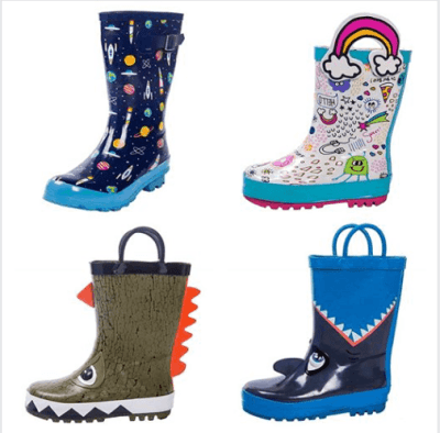 Amazon : Kids Rain Boots Just $12.99 W/Code (Reg : $25.99) (As of 6/17/2019 12.33 PM CDT)