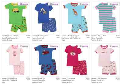 Leveret Short PJs for $8.99 (Reg: $19.99) + Free Shipping w/code