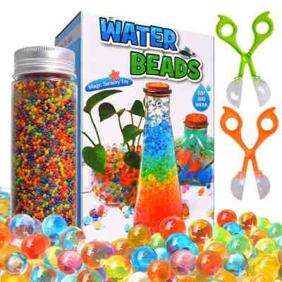 Amazon : Water Beads Kits Rainbow Mix 30,000 Just $5.99 W/Code (Reg : $9.99) (As of 6/26/2019 2.38 PM CDT)