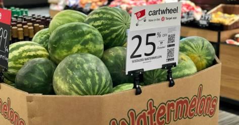 Rare 25% Off Watermelon, Honeydew & Cantaloupe at Target
