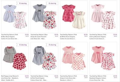 Zulily : SALE ! $9.99 (Reg $34.99+) 2-Pack Dresses: Baby & Toddler Girl