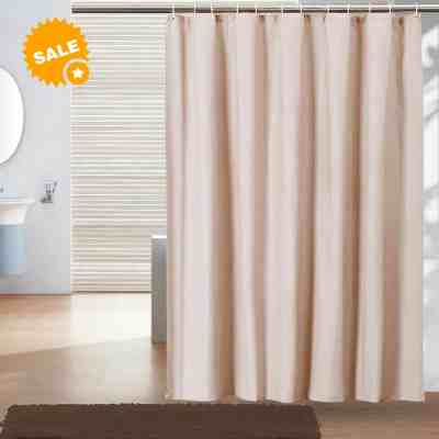 Amazon : Bathroom Shower Curtain Just $6.39 W/Code (Reg : $15.99) (As of 7/23/2019 11.04 PM CDT)