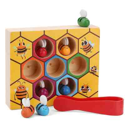 Toddler Bee Hive Preschool Wooden Toys for $10.79 Shipped! (Reg. Price $16.99)