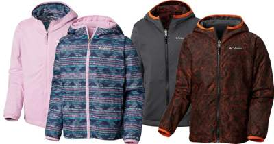 Columbia : Kids Reversible Wind Jacket Just $19.98 Shipped (Reg : $60)