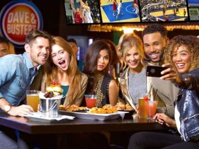 Dave & Buster's All-Day 2-Person Gaming Package JUST $20 (Reg $70) – Today Only!