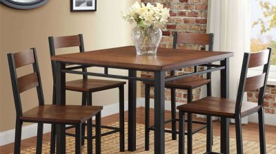 5-Piece Dining Sets Starting at ONLY $121.10 at Walmart + FREE Shipping (Regularly $249)