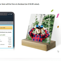 Amazon :  Select Accounts – Get FREE Custom Metal Tabletop Gift! (As of 7/15/2019 1.22 AM CDT)