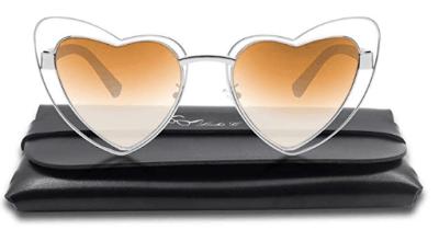 Amazon : Heart Shape Sunglasses Just $8.54 W/Code (Reg : $18.99) (As of 7/23/2019 4.23 PM CDT)