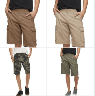 Men's Urban Pipeline Ripstop Ultra Flex Cargo Shorts for $14.01 (reg:$44) w/codes