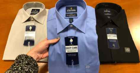 Stafford Men's Dress Shirts $6.66 Each at JCPenney (Regularly $40)