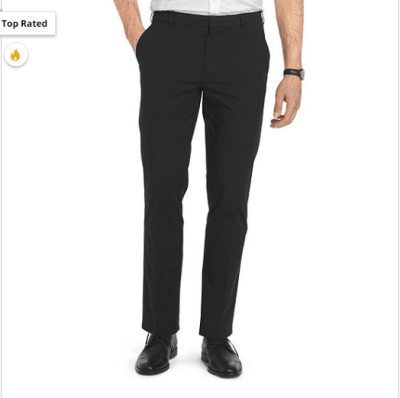 Jcpenney : Van Heusen Flex Oxford Chino Mens Straight Fit Flat Front Pant Just $13.49 W/Code (Reg : $17.99)