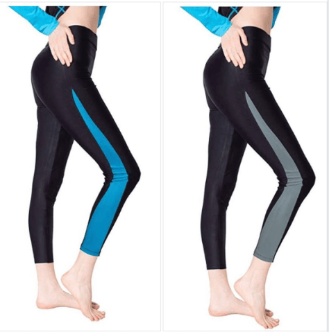 Women's Surfing Leggings Swimming Tights for $8.09 w/code & coupon clip
