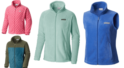 Columbia : Fleece Jackets Over 60% Off + Free Shipping!