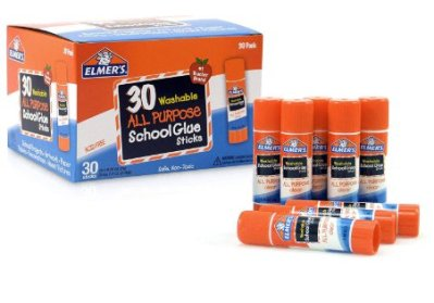30 Count Elmer's All Purpose School Glue Sticks for $8.88 Shipped! (Reg. Price $14.99)