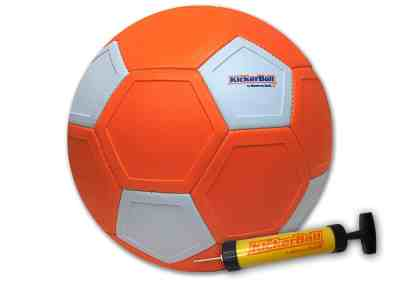 Kickerball - Curve and Swerve Soccer Ball/Football Toy for $18.79 (REG $25.00)