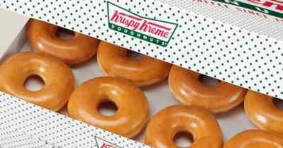 Krispy Kreme: Dozen Glazed Doughnuts - Only $5