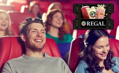 Invite only...Get a $20 Regal eGift Card for $10.