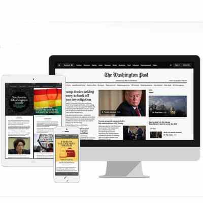 FREE 8 Week Washington Post Digital Subscription for Amazon Prime Members