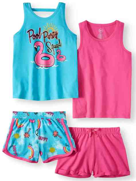 RUN! $6.00 (Reg $15.84) Girls 4-Piece Mix & Match Outfit Sets