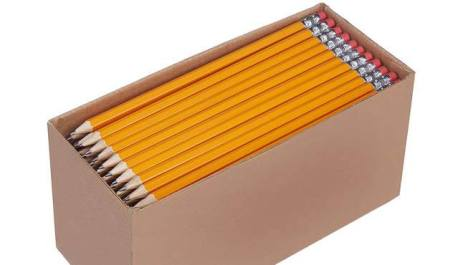 AmazonBasics Pre-Sharpened HB Pencils 150-Pack ONLY $9.99 – Just 6¢ each!