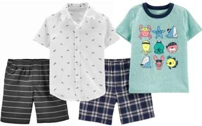 Carter's Toddler Boy Shirt & Shorts Set Just $7 Each + FREE Shipping at Kohl's (Reg : $30)