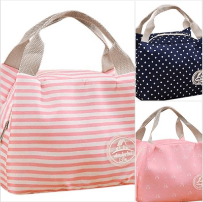 Amazon : **80% OFF** Reusable Lunch Bags Just $2.80 W/Code (Reg : $13.99) (As of 8/27/2019 6.05 AM CDT)