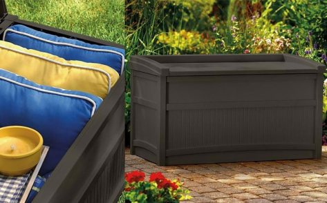 Suncast 50-Gallon Deck Box for ONLY $59 + FREE Shipping at Walmart(Regularly $101)