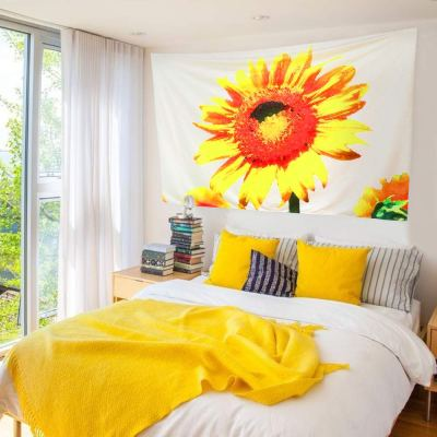 Amazon : Sunflower Tapestry Just $3.30 W/Code (Reg : $10.99) (As of 8/25/2019 10.05 PM CDT)