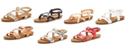 Amazon : Women's Bold Slingback Flat Sandals Just $8.40 W/Code (Reg : $27.99) (As of 8/25/2019 3.40 PM CDT)