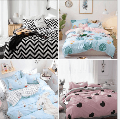 Kids Geometric Chevron Duvet Cover Sets for $17.44 + Coupon Code + ✂️ 15% OFF COUPON