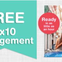 New - Free 8×10 Photo Print + Free Walgreens Store Pickup